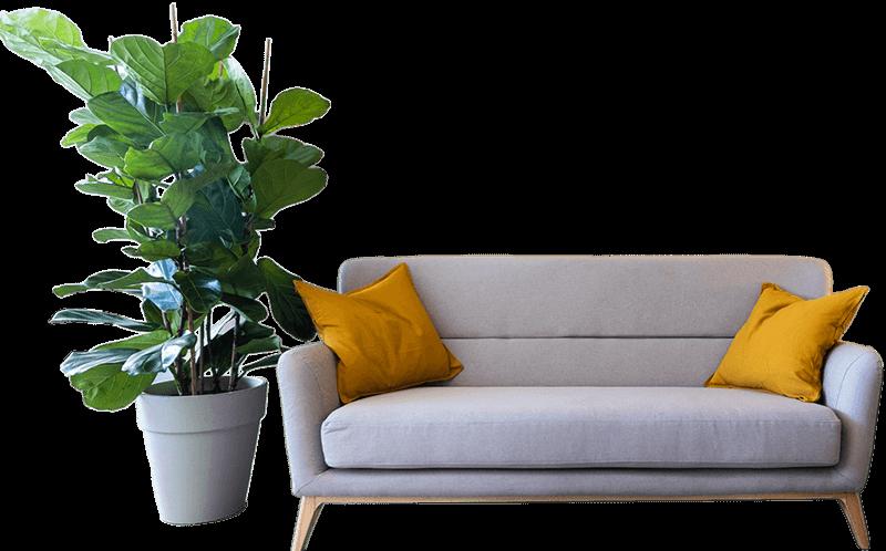 O sofá de Trebella